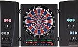 Dartona Elektronische Dartscheibe CB160 Cabinett | Dartscheibe elektronisch | Turnierscheibe mit 33 Spielen und über 160 Varianten